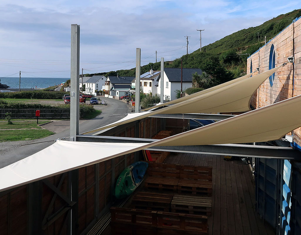 Ty Cwch Bunkhouse<br />On the Welsh Coast Path <br />for Active Holidays